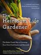 Book cover: The Heirloom Life Gardener